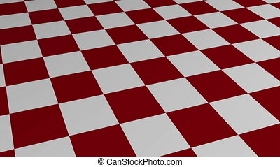 Checkered Motion Background made in AEcs5 in red and white
