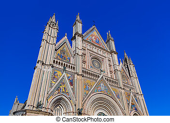 Duomo Cathedral of Orvieto in Italy