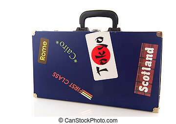 Travel around the world - Suitcase for travel around the...