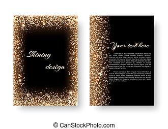 01226_v_Bling background with light burst - Glimmer...
