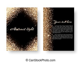 01227_v_Bling background with light effect - Glimmer...