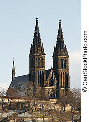 Chapter Church of St Peter and Paul - Vysehrad - second seat...