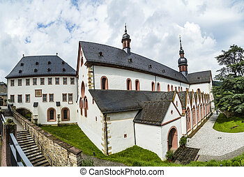 cloister Eberbach in Germany - outdoor view of famous...