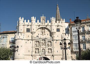 Burgos (Spain): historic buildings - Burgos (Castilla y...