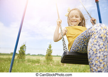 To enjoy your freedom like a child
