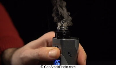 Hot spiral in the e-cigarette - Hot spiral disassembled...