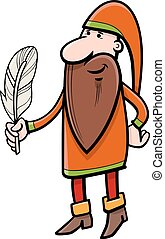dwarf fantasy character - Cartoon Illustration of Dwarf...