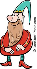 dwarf fantasy character - Cartoon Illustration of Dwarf or...