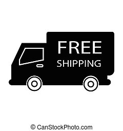free shipping truck box - simple flat black free shipping...