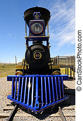 Historic Jupiter Steam Locomotive at Golden Spike National...