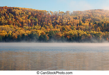 Autumn landscape - Picture of a colorful autumn landscape...