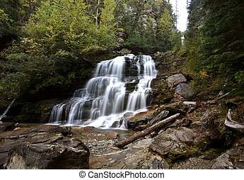 Bijoux Falls in beautiful British Columbia