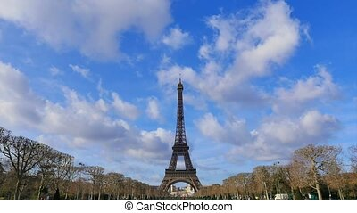 Eiffel Tower-Paris-France-Time Lapse, Europe