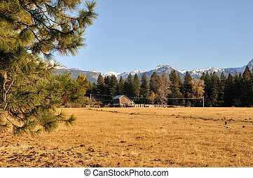 California Ranch in the Mountains