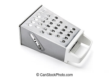 Grater on White Background