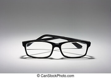 Eyeglasses on Seamless Background