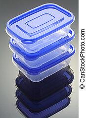 plástico, Cajas