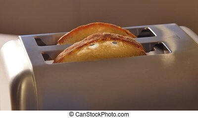 Toast pops up-Modern Toaster, France