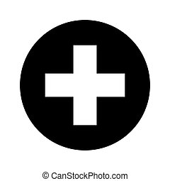 medical cross symbol icon