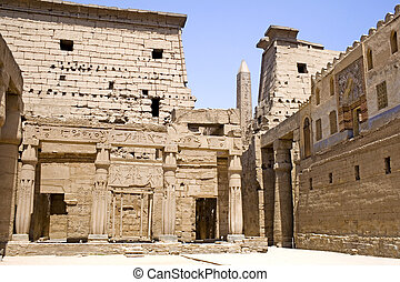 Temple of Luxor - Image of the Temple of Luxor, Luxor,...