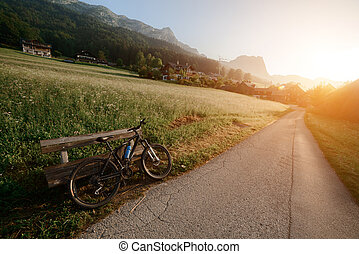 Grundlsee - Amazing morning in the Resslern village near the...