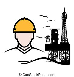 Contractor - Vector illustration of the contractor and...