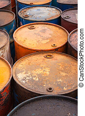 aceite, barriles