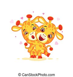 Emoji have hugs be mine character cartoon friends giraffe...