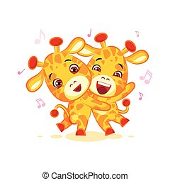 Emoji have date let dance music character cartoon friends...