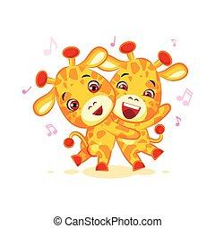 Emoji have date let dance music character cartoon friends...