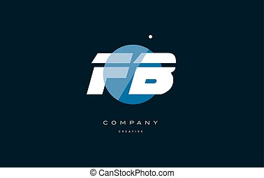 fb f b blue white circle big font alphabet company letter...