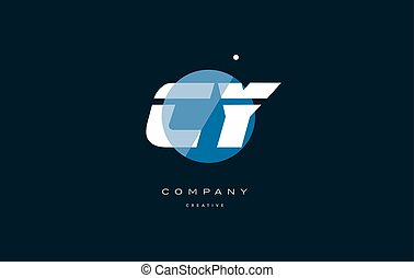 cy c y blue white circle big font alphabet company letter...