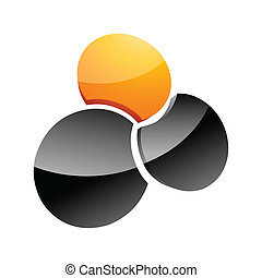 Abstract design element. Vector illustration