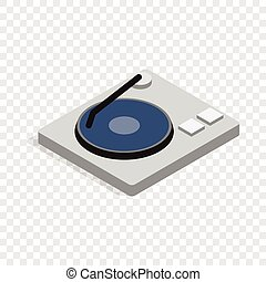 Hard disk isometric icon 3d on a transparent background...