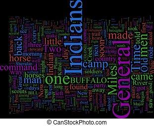 Word Cloud: Buffalo Bill - Word Cloud based on Buffalo Bills...