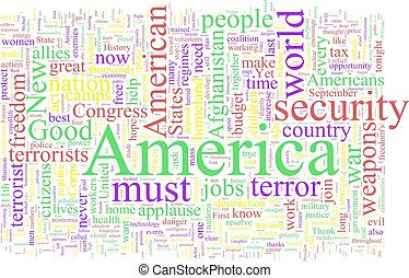 Word Cloud: George W Bush - Word Cloud based on George W...