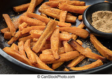 Sweet Potato Fries with Spiced Salt