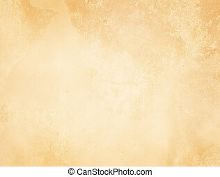 Old yellowed paper texture. - Aged and yellowed paper...