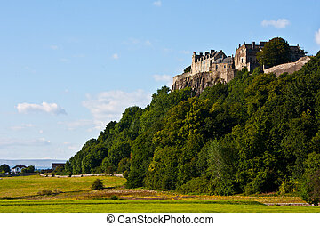 Stirling Castle - View of Stirling Castle, from the bottom...