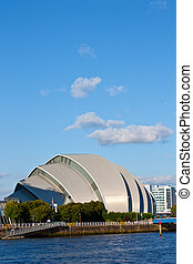 Glasgow Armadillo - View of Glasgow Armadillo from the...