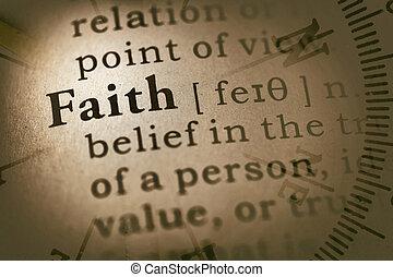 word faith and compass