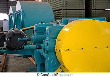 Industrial Machineries at a Foundry