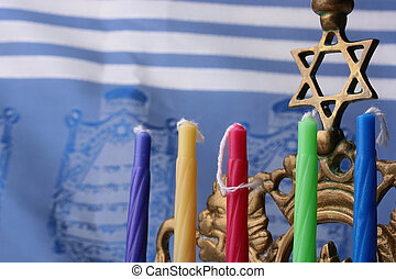 Menorah candles