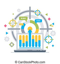Chart analytics target