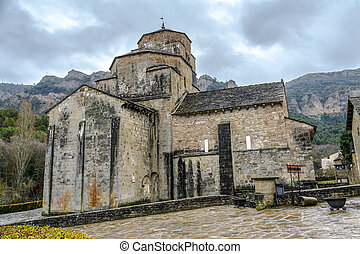Church of Santa Maria in Santa Cruz de la Seros,  Aragon Spain