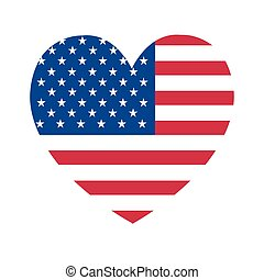 heart of America flag