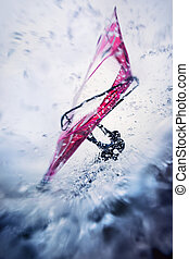windsurfer extreme - windsurfing in extreme conditions,...