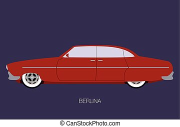 berlina classic car.eps