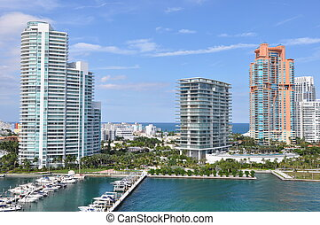 City of Miami in Florida