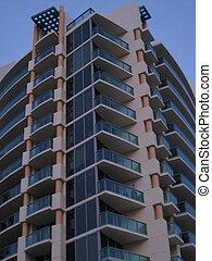 Skyscrapers in Miami Beach, Florida